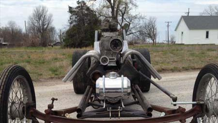 100 inch wheelbase front engine dragster